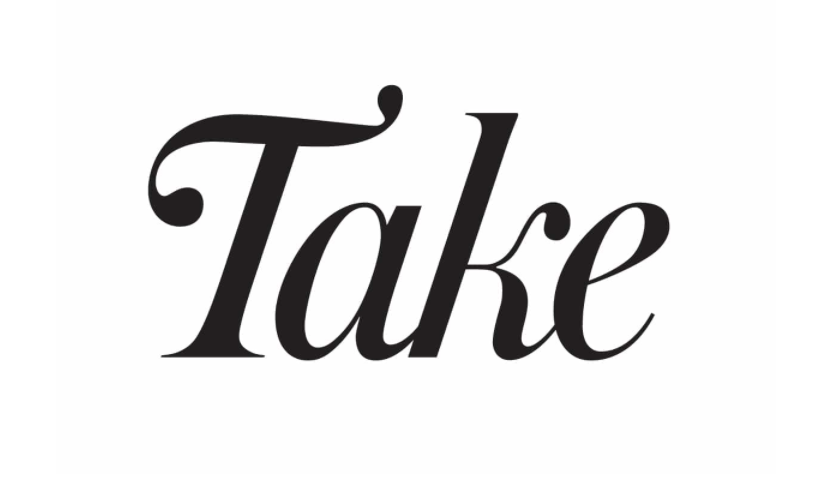 take magazine logo